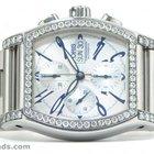 Oris Miles Tonneau Chronograph 4.30 Carat Diamond Bezel Ref...