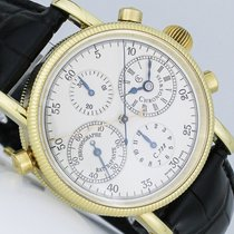 Chronoswiss Rattrapante Doppelchronograph Gold
