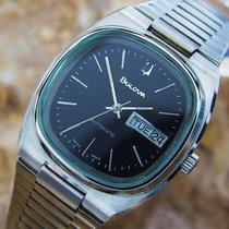 Bulova Automatic Stainless Steel Swiss Vintage Watch Circa...