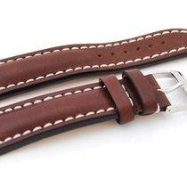 Breitling Lederband mit Dornschließe, 22/20 mm, braun