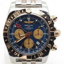 Breitling Cb0420 Chronomat 44 Gmt Two Tone Steel & 18k...