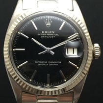 Rolex Datejust 1601 White Gold with Black Glossy Dial