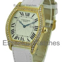 Cartier tortue_lrg_dia_bezel_yg Large Size Yellow Gold Tortue...