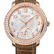 Patek Philippe Ladies Complication Rose Gold Moonphase Mother...
