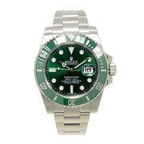 勞力士 (Rolex) Submariner(date) Stainless Steel Green Automatic...
