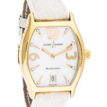 Ulysse Nardin 111-48 Michelangelo in Yellow Gold - on White...