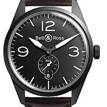 Bell & Ross Vintage Men's Watch BRV123-BL-CA/SCA