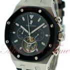 Audemars Piguet Royal Oak Chronograph, Black Dial, Black...
