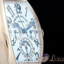 Franck Muller Cintree Curvex Master Banker Lune Rosegold Three...
