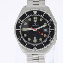 Candino 1000m Vintage Diver Automatic NEW OLD STOCK