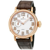 Zenith Pilot Automatic White Dial Ladies Watch