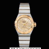 Omega Constellation Co-Axial Automatic 27 mm Gold Dial T