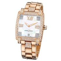 Ulysse Nardin Caprice Rose Gold Diamond Ladies Watch