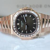 Patek Philippe 5723/1R-010 Nautilus Rose Gold Diamond Bezel