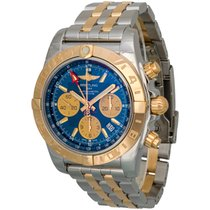Breitling Chronomat GMT Two-Tone Chronograph Watch CB042012/C858