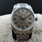 Rolex DATEJUST 1601 SS with Original Silver NO LUME Dia...