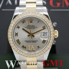 Rolex Datejust Medium Steel & Gold Diamond Dial & Bezel