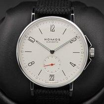 Nomos FSOT:  Ahoi Datum - Model 551 - Stainless Steel - White...