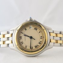Cartier Panthere Cougar 18k Gold Steel Two Lines