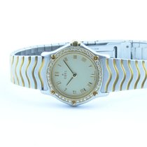 Ebel Classic Wave Damen Uhr Stahl/750 Gold 25mm Top Zustand...