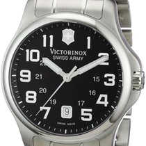 Victorinox Swiss Army Officer's Steel Mens Casual Watch...