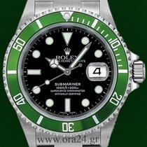 Ρολεξ (Rolex) Submariner 16610LV Green Z Series 2007 Box&P...