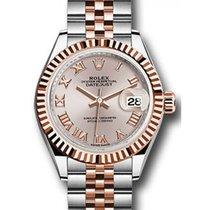 勞力士 (Rolex) Datejust 28 279171 Sundust Roman Fluted Bezel Rose...