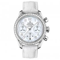 Omega Speedmaster Chronograph Diamond Bezel Ladies Watch ...