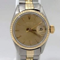 Rolex Ladies Vintage Rolex Two Tone 14k Yellow Gold Stainless...
