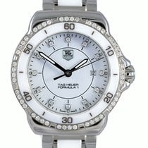 TAG Heuer F1 Ceramic & Diamonds Ladies