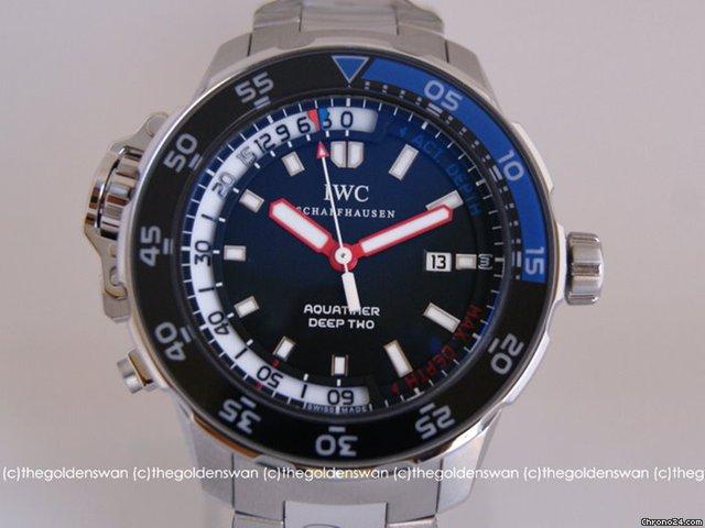 IWC Aquatimer Deep Two on Bracelet and Strap