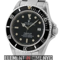 Rolex Sea-Dweller Stainless Steel Black T Swiss Dial X Serial...