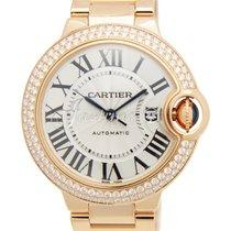 Cartier WE902064 BALLON BLUE DE 33mm PINK GOLD 2016