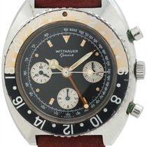 Wittnauer SS GMT Chronograph circa 1960s