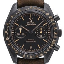 Omega Speedmaster Moonwatch Dark Side Vintage Black