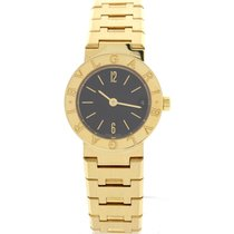 Bulgari Ladies  18K Yellow Gold Date Watch BB 23 GGD