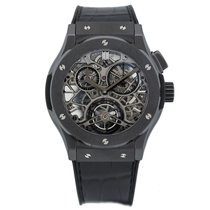 Hublot Classic Fusion Tourbillon Skeleton All Black 45 mm