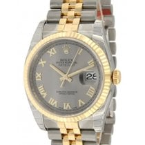 Rolex Datejust 116233 In Gold And Steel, 36mm