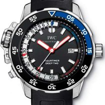 IWC Aquatimer Deep Two Stainless Steel Men`s Watch