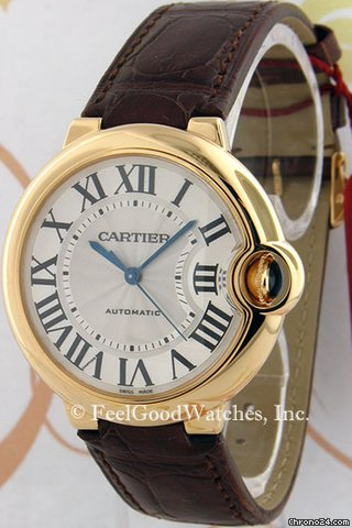Cartier W6900356 Ballon Bleu MM, Yellow Gold
