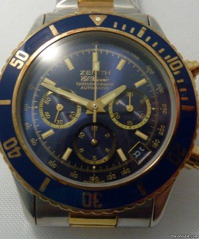 Zenith De Luca El Primero Chronograph sold on Chrono24