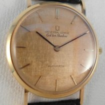Universal Genève Golden Shadow Automatic RARE solid 18 k...