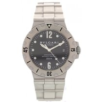 Bulgari Men's  Diagono Automatic  Stainless Steel SD 38 S