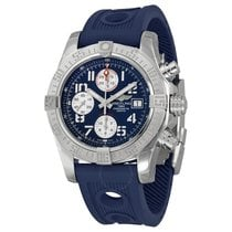 Breitling Avenger II Chronograph Automatic Blue Dial Blue...