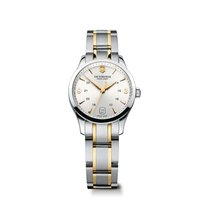 Victorinox Swiss Army Alliance Small, silver dial, gold hands...