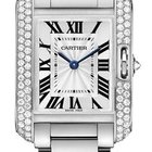 Cartier Tank Anglaise Quartz No Date Ladies watch WT100008