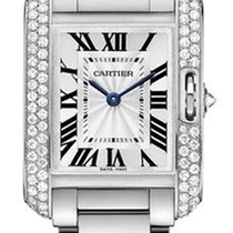 Cartier Tank Anglaise Quartz No Date Ladies watch WT100008