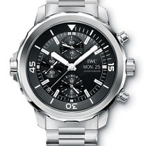 IWC Aquatimer Chronograph Steel Black Dial  IW376804 T