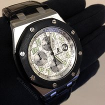 Audemars Piguet Royal Oak Offshore Chrono Stainless White