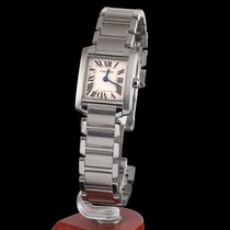 Cartier Tank Francaise Steel Quartz Lady